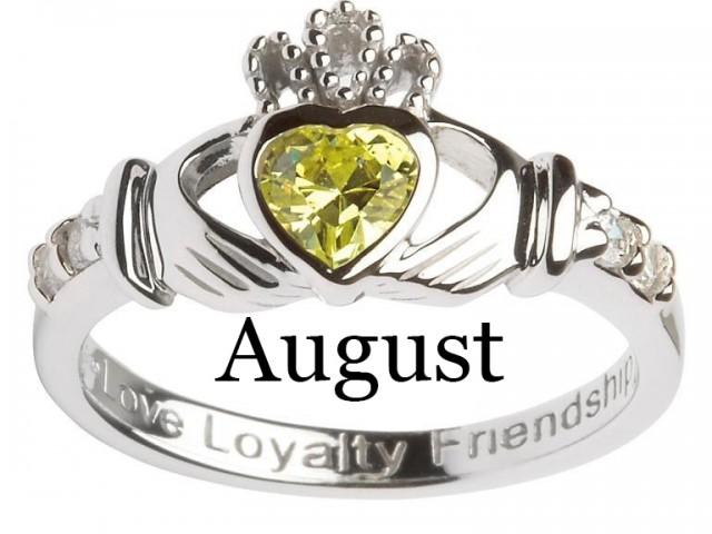 August – Peridot