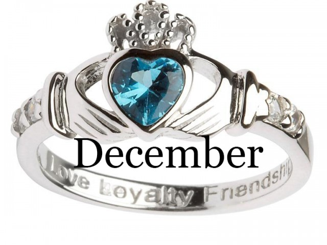 December – Blue Topaz