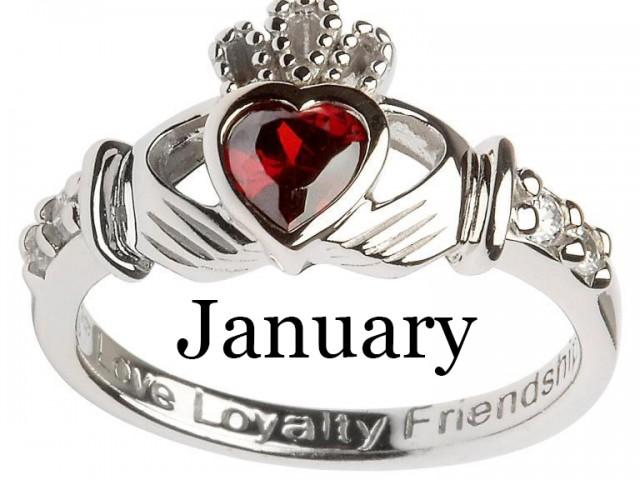 January – Garnet