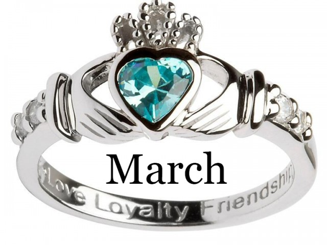 March – Aquamarine