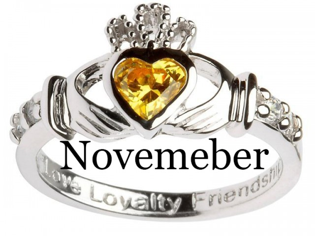 November – Yellow Topaz