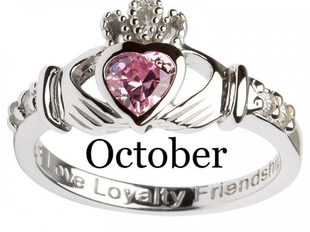 October – Pink Tourmaline